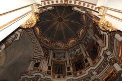 Interno della cattedrale Andalusia Granada Spagna Immagini Stock Libere da Diritti