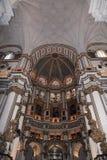 Interno della cattedrale Andalusia Granada Spagna Immagine Stock Libera da Diritti