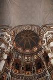 Interno della cattedrale Andalusia Granada Spagna Fotografie Stock Libere da Diritti