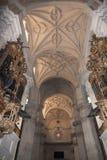 Interno della cattedrale Andalusia Granada Spagna Fotografia Stock