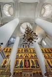 Interno della cattedrale del presupposto della nostra signora, Yaroslavl, Fotografia Stock Libera da Diritti