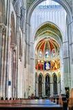 Interno della cattedrale di Almudena Immagini Stock Libere da Diritti