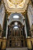 Interno della cattedrale di Cuenca, Capilla del Pilar, centrale Fotografie Stock Libere da Diritti