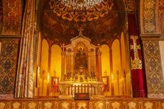 Interno della cattedrale di Echmiadzin Fotografia Stock Libera da Diritti