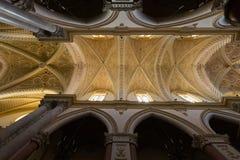 Interno della cattedrale di Erice Fotografie Stock Libere da Diritti
