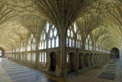Interno della cattedrale di Gloucester Fotografia Stock Libera da Diritti