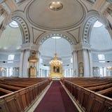 Interno della cattedrale di Helsinki, Finlandia Immagine Stock