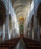 Interno della cattedrale di La Plata - provincia di La Plata, Buenos Aires, Argentina fotografie stock libere da diritti