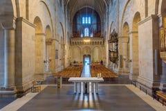 Interno della cattedrale di Lund Fotografia Stock