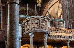 Interno della cattedrale di Modena Fotografia Stock Libera da Diritti