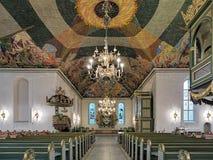 Interno della cattedrale di Oslo, Norvegia Fotografie Stock Libere da Diritti