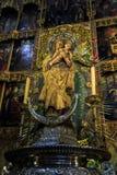 Interno della cattedrale di Santa Maria la Real de la Almudena, pazza Fotografie Stock Libere da Diritti