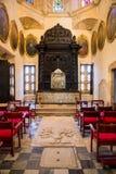 Interno della cattedrale di Santo Domingo fotografia stock libera da diritti