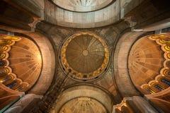 Interno della cattedrale di Sava del san Fotografie Stock