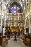 Interno della cattedrale di Southwark, Londra Fotografia Stock Libera da Diritti