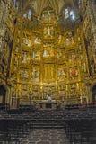 Interno della cattedrale di Toledo Immagine Stock Libera da Diritti