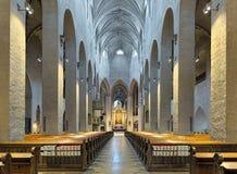Interno della cattedrale di Turku, Finlandia Immagini Stock Libere da Diritti
