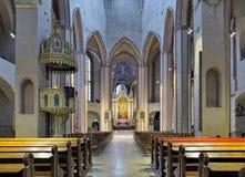 Interno della cattedrale di Turku, Finlandia Fotografia Stock