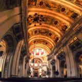 Interno della cattedrale a Salisburgo, Austria Immagine Stock Libera da Diritti