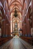 Interno della chiesa Fotografie Stock Libere da Diritti