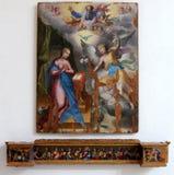 Interno della chiesa di Amalfi Immagine Stock Libera da Diritti