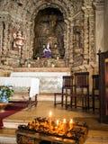 Interno della chiesa di Constancia Mesiricordia Fotografia Stock