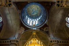 Interno della chiesa di Santi Cirillo e Metodio Fotografie Stock