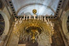 Interno della chiesa di Santi Cirillo e Metodio Fotografia Stock