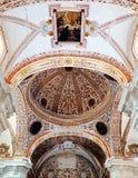 Interno della chiesa di St Augustine, Almagro, Spagna Immagine Stock