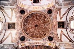 Interno della chiesa di St Augustine, Almagro, Spagna Fotografie Stock