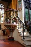 Interno della chiesa di St Margaret, abbazia di Westminster Fotografia Stock