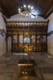Interno della chiesa ortodossa bulgara Immagini Stock Libere da Diritti