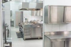 Interno della cucina professionale fotografia stock