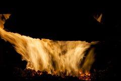 Interno della fornace del carbone Immagini Stock Libere da Diritti