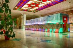 Interno della galleria miniral dell'acqua per la molla number17 Fotografia Stock