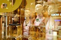 Interno della gioielleria Fotografia Stock Libera da Diritti