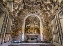 Interno della grotta di Madma sui giardini di Boboli, Firenze Immagini Stock Libere da Diritti