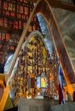 Interno della La Altagracia della basilica nella Repubblica dominicana Fotografie Stock Libere da Diritti