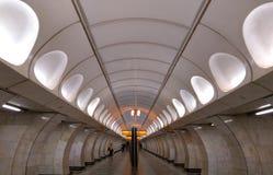 Interno della metropolitana di Praga immagine stock libera da diritti