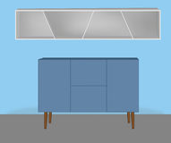 Interno della mobilia Fotografia Stock