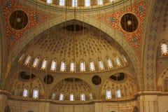 Interno della moschea a Ankara, Turchia fotografie stock