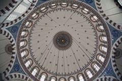 Interno della moschea a Costantinopoli Fotografia Stock