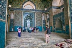 Interno della moschea di Yame Immagine Stock
