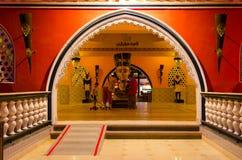 Interno della notte 1001 del complesso di spettacolo e di acquisto Alf Leila Wa Leila, Sharm el-Sheikh, Egitto immagine stock
