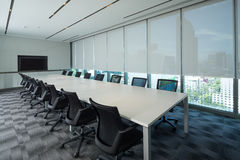 Interno della sala riunioni Fotografia Stock