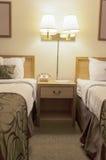 Interno della serie della camera di albergo Fotografia Stock