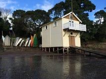 Interno della spiaggia House immagini stock libere da diritti