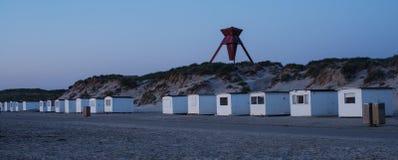 Interno della spiaggia House Fotografia Stock
