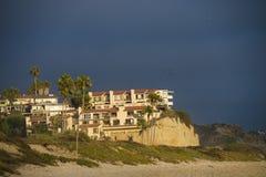 Interno della spiaggia House Immagine Stock Libera da Diritti