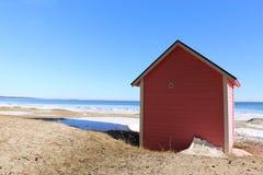 Interno della spiaggia House Fotografie Stock